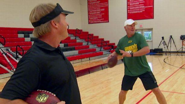Brett Favre goes to Gruden's QB Camp