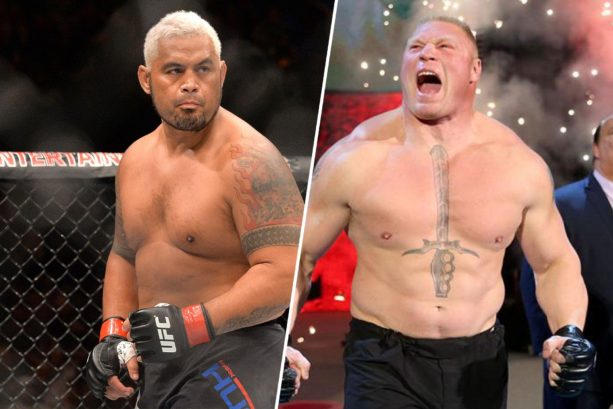 Mark Hunt Continues to Chop Down Brock Lesnar