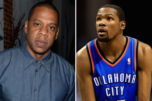 Jay Z was Begging Kevin Durant