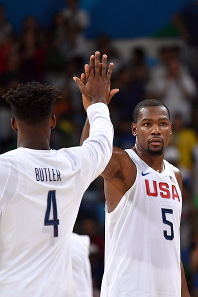 Kevin Durant roasts Jimmy Butler