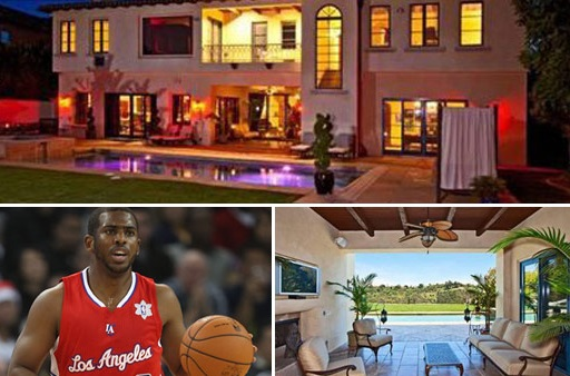 Chris Paul lists mansion he purchased from Avril Lavigne