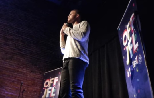 Blake Griffin doing Standup Comedy in Montreal
