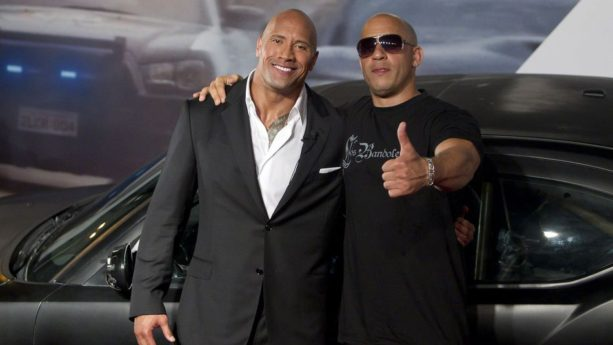 The Rock and Vin Diesel Taking Their Act to Wrestling Ring