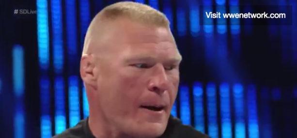 Brock Lesnar storms back into Wrestling Ring