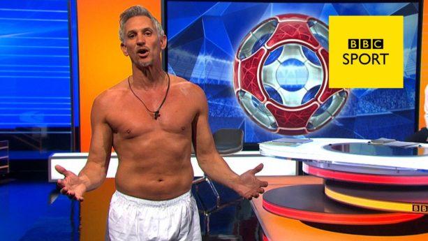 Sportscaster Presents Show in Underwear After Losing Bet