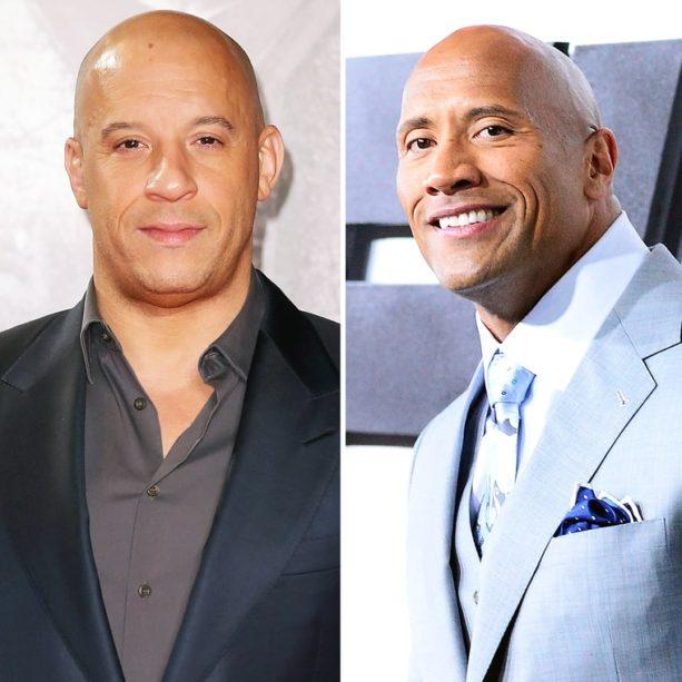 Vin Diesel Throws The Rock a Bone