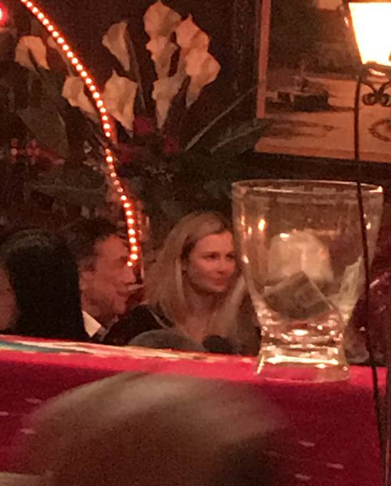 Donald Sterling Out To Dinner With Fresh White Meat