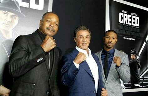Chubbs Peterson Hits the Red Carpet for Creed