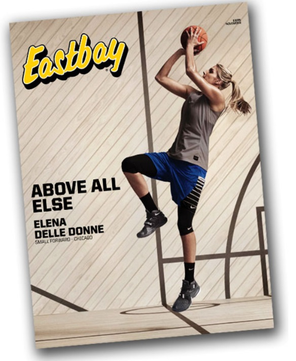 Elena Delle Donne Covers Eastbay