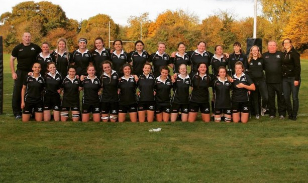 Women's rugby players strip off for Calendar