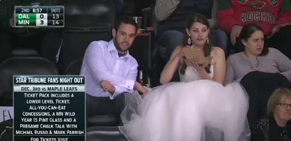 A Minnesota Wild Wedding