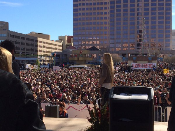 UFC Champion Holly Holm's Albuquerque Parade Speech