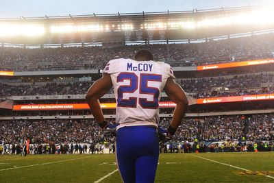 LeSean McCoy Had Nothing To Say