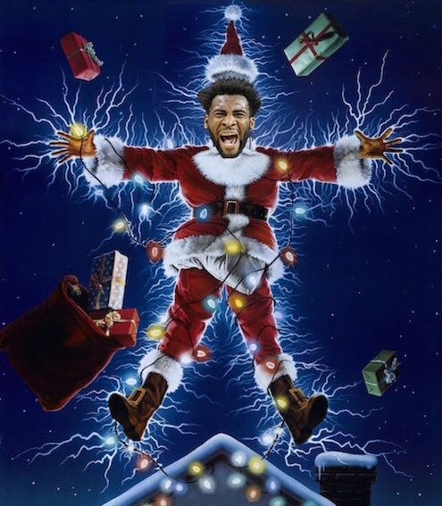 Andre Drummond Delivers Christmas Photoshop