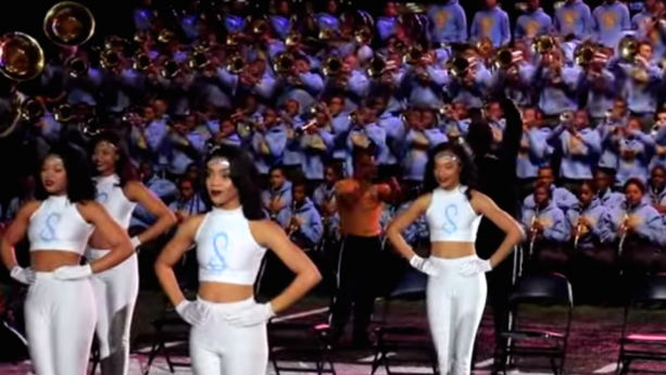 Marching band does mind-blowing cover of Adele's 'Hello'
