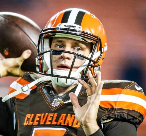 Austin Davis Added to the famous Browns QB jersey