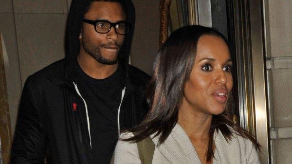 Nnamdi and Kerry Washington Fueling Divorce Rumors