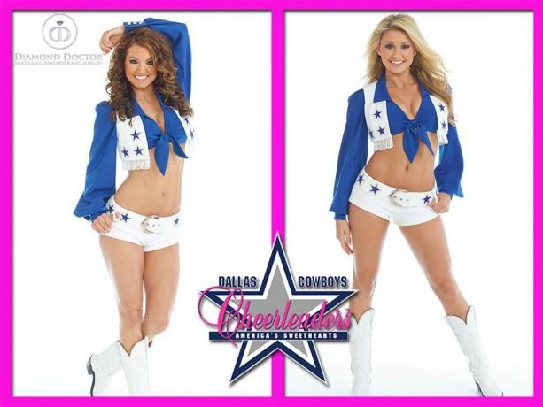 2016 Dallas Cowboys Cheerleaders Swimsuit Calendar Shoot
