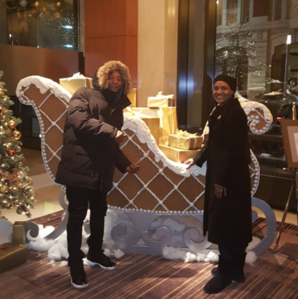 abbedb851ec3 LeBron James Mother Spends New Years In Aspen ⋆ Terez Owens    1 ...