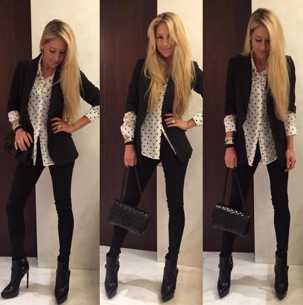 Anna Kournikova's Fashion Game is Strong
