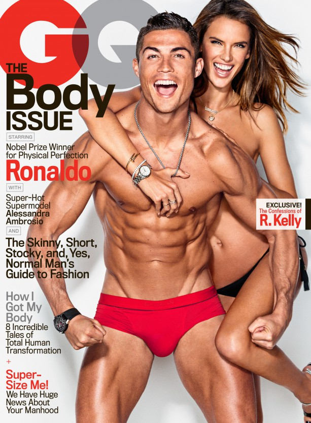 Cristiano Ronaldo's Abs Were Photoshopped for GQ Cover