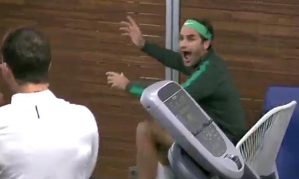 Roger Federer is a HUGE Maria Sharapova Fan
