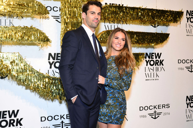Eric Decker and Wife Attend Kickoff Party