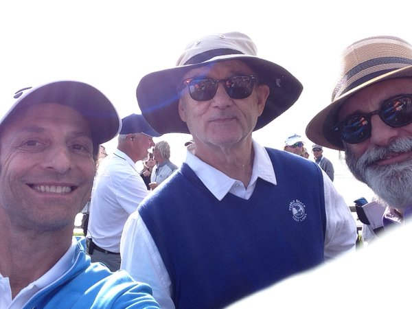 Bill Murray Fan Friendly to Kenny G