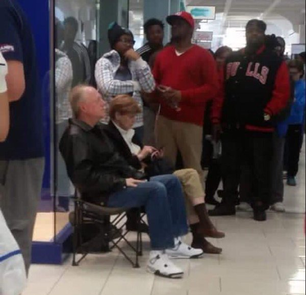 67 Year Old Sneaker Head First In Line