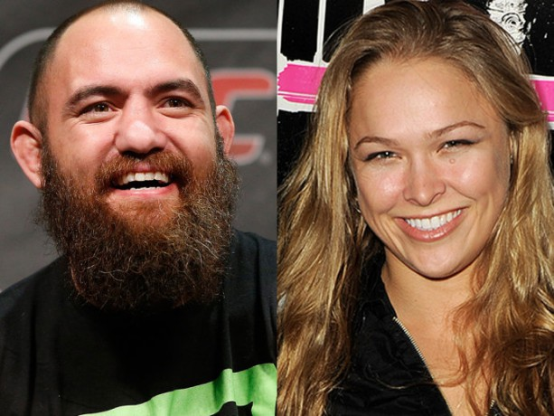 Travis Browne Would go through hell and back for Ronda Rousey