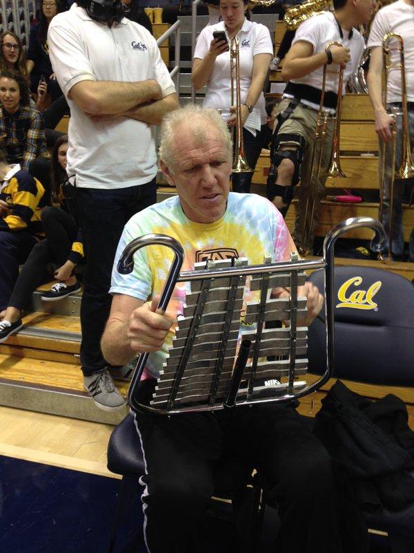 Bill Walton Playing The Glockenspiel