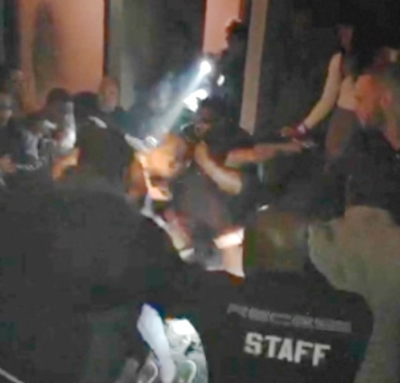 A video of the fight allegedly involving LeSean McCoy