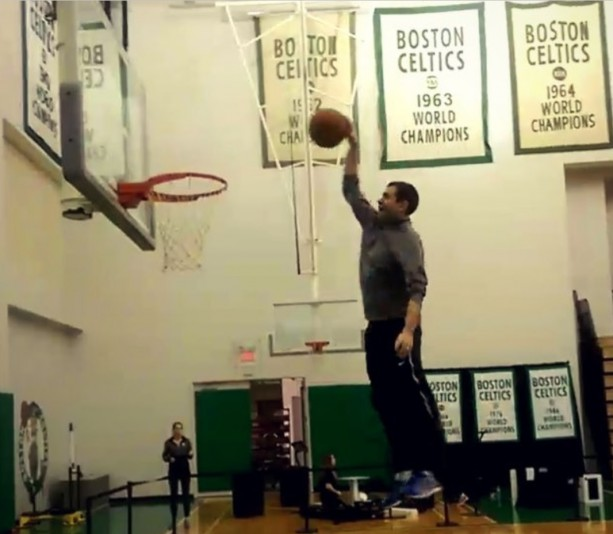 Celtics Coach Has Hops?