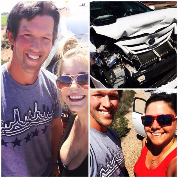 Clayton Kershaw Selfie Friendly After Arizona Accident