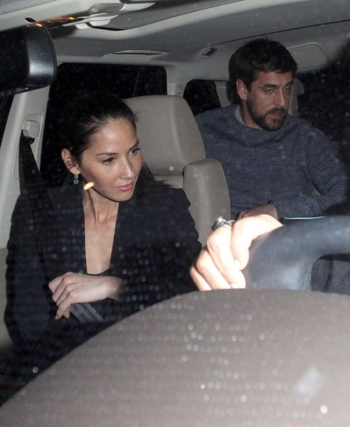 Aaron Rodgers Wasty Faced with Olivia Munn