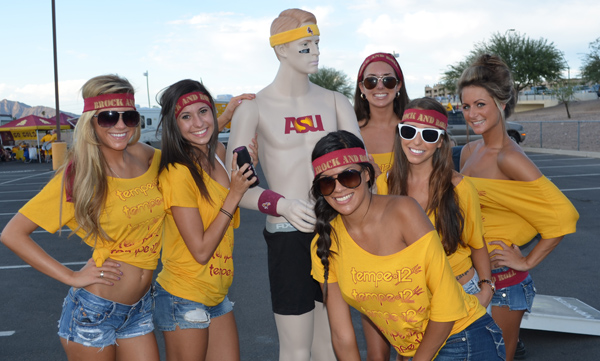 Arizona State Students Think They're In The Tourney