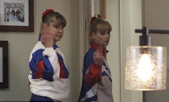 Tonya Harding Promoting Gymnastics Movie The Bronze