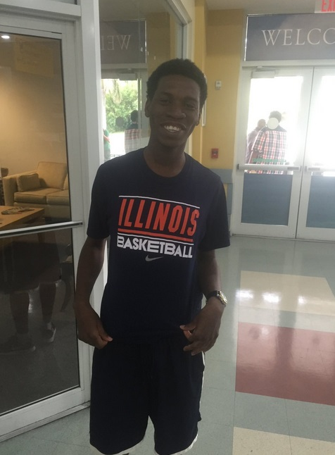 Buddy Hield's brother Chevez Is an Illinois Basketball Fan