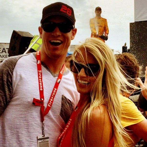 Ryan and Lauren Tannehill Enjoying Their Offseason