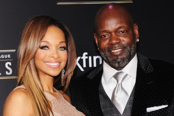 Emmitt Smith and Smoking Hot Wife Replace Primetime