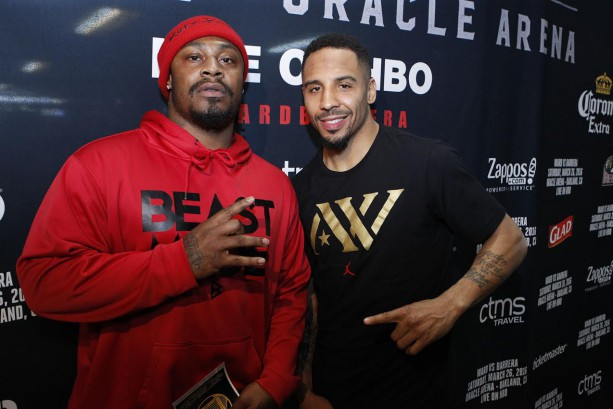 Marshawn Lynch Beasting Out with World Champ Andre Ward