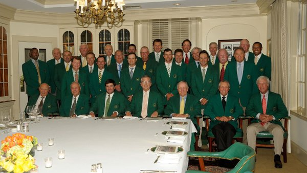The Masters Championship Dinner Menu