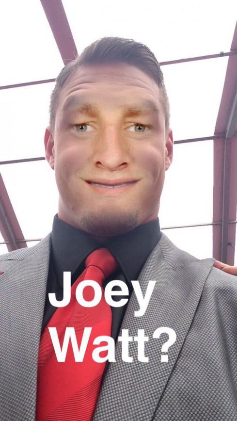 Joey Bosa Face Swaps with JJ Watt