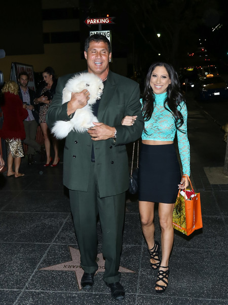 Jose Canseco and His Fiance Hit the town