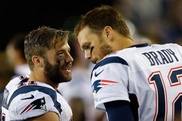 Julian Edelman Answers Tom Brady's Call