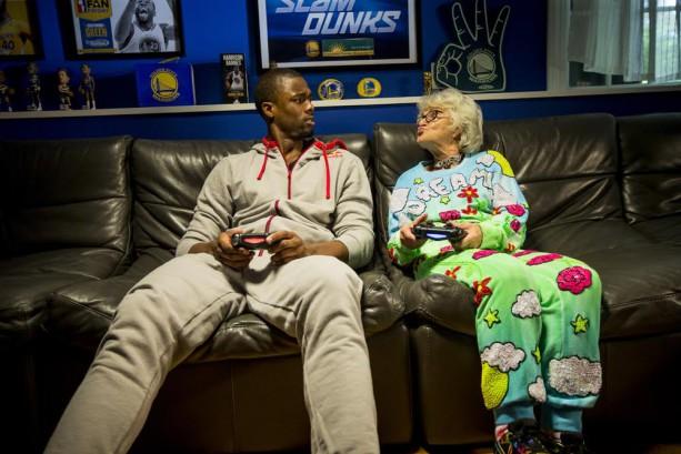 Harrison Barnes: NBA 2K w/ a Grandma…
