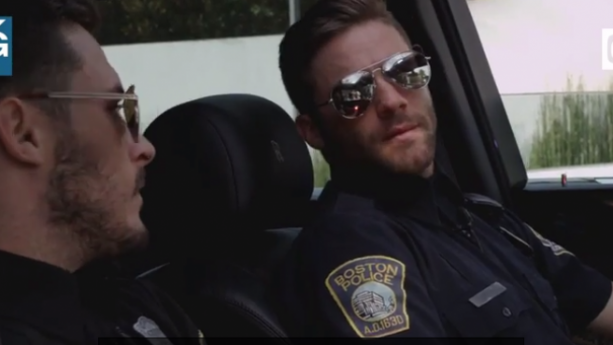 Julian Edelman & Danny Amendola team up as Boston 'Cops'