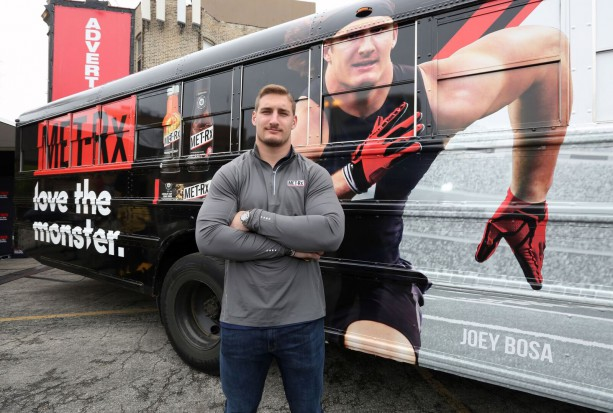 Joey Bosa Gets His Own Bus