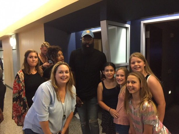 promo code d4470 aebc2 James Harden Spotted At Beyonce Concert On Date ⋆ Terez ...