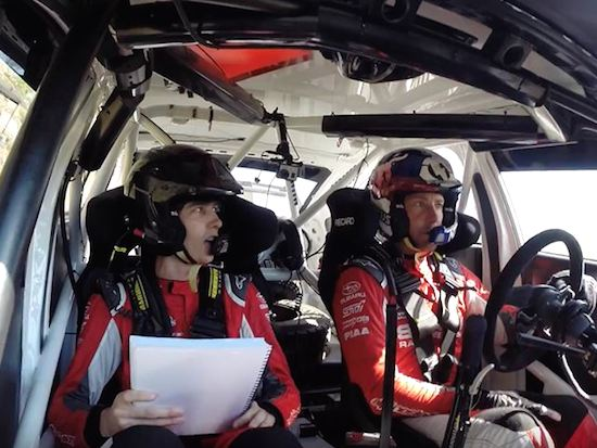 How To (Not) Co-Drive A Rally Car With Travis Pastrana